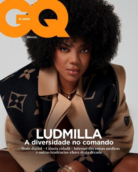 Ludmilla na GQ Brasil de maio